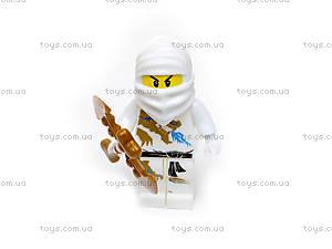 Игровой набор фигурок «Ниндзя», 5 героев, 6169, фото
