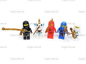 Игровой набор фигурок «Ниндзя», 5 героев, 6169
