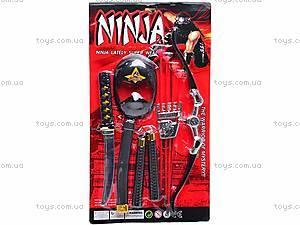 Набор Ninja с мечом и нунчаками, RZ1212