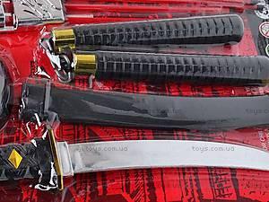 Набор Ninja с мечом и нунчаками, RZ1212, цена