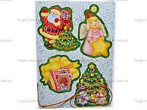 Набор новогодний «Маша и Медведь», VT4001-01/02, игрушки