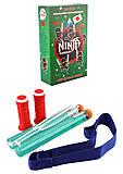"""Набор """"Ниндзя"""" в коробке: пояс и 2 меча, , купить игрушку"""