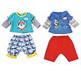 Набор одежды для куклы BABY BORN «Малыш на прогулке», 823927, детский