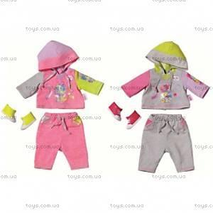 Набор одежды для куклы Baby Born «Спортивный малыш», 819319