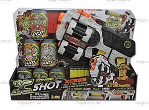 Набор охотника с пистолетом и боеприпасами X-Shot, 01164Z