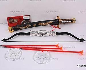 Набор оружия для мальчишек «Ниндзя», 8612