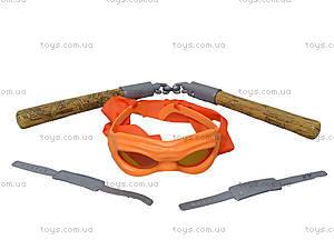 Набор оружия «Ниндзя черепашки», 09334, детские игрушки