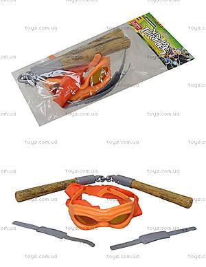 Набор оружия «Ниндзя черепашки», 09334, магазин игрушек