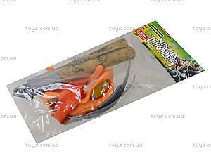 Набор оружия «Ниндзя черепашки», 09334, toys.com.ua