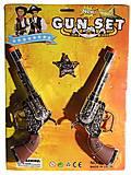 """Набор оружия """"Ковбой"""" 2 револьвера, 0692А, іграшки"""