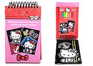 Набор детских открыток с бархатом Hello Kittу, HK14-219K, отзывы