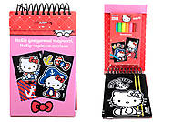 Набор детских открыток с бархатом Hello Kittу, HK14-219K