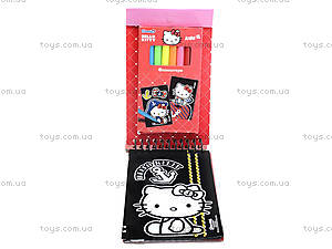 Набор детских открыток с бархатом Hello Kittу, HK14-219K, цена