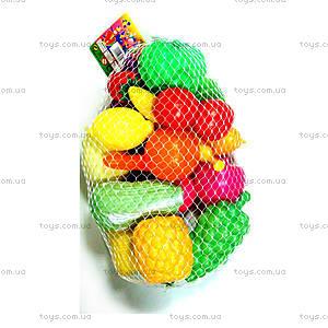 Детский игровой набор «Овощи и фрукты», 0015