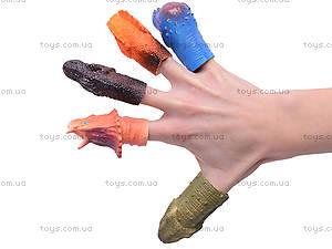 Набор пальчиковых игрушек «Динозаврики», 1004-3, фото