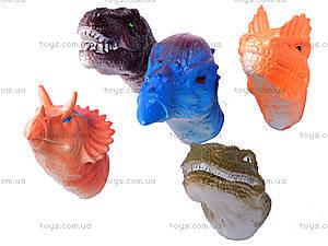Набор пальчиковых игрушек «Динозаврики», 1004-3