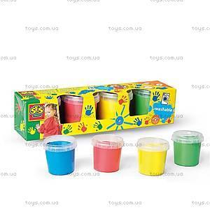 """Набор пальчиковых красок """"Мои первые рисунки"""" SES, 0305S"""