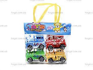 Набор инерционных паровозиков, DY15-22, игрушки