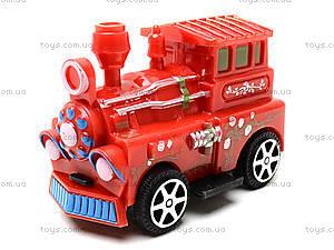 Набор инерционных паровозиков, DY15-22, детские игрушки