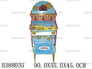 Набор «Парта и стул», деревянный, W026 (388035)