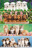 Набор пазлов MINI на 220 деталей «Животные», A-22014-Z, фото