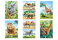 Набор пазлов MINI на 24 детали «Животные», A-02405-Z, фото