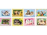 Набор пазлов MINI на 80 детали «Животные», A-08514-Z