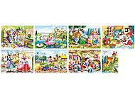Набор пазлов MINI на 80 детали «Сказки», A-08514-B, фото