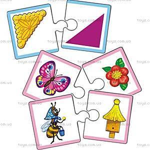 Набор дидактических пазлов «Моя первая игра», VT2204-04,07, магазин игрушек