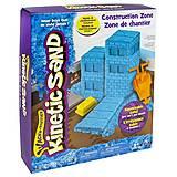 Набор песка для детского творчества Kinetic Sand Construction Zone, 71417-2, купить