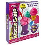 Набор песка для детского творчества Kinetic Sand Ice Cream, 71417-1, фото