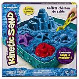 Набор песка «ЗАМОК ИЗ ПЕСКА» голубой, 71402B, купить
