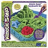 Набор песка «ЗАМОК ИЗ ПЕСКА» зеленый, 71402G, фото