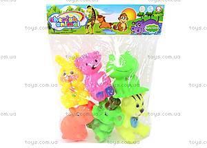 Набор пищалок «Зверушки», 3271, детские игрушки