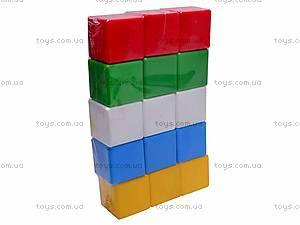 Набор пластмассовых кубиков, 1691, фото