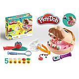 Набор пластилина «Доктор Зубастик» Play-Doh, PD8605, іграшки