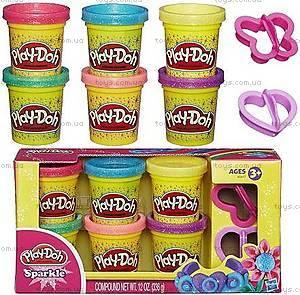 Набор пластилина Play-Doh «Блестящая коллекция», A5417
