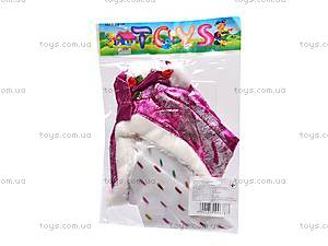 Набор платьев, 6 штук, XY8328B, игрушки