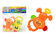 Детский набор погремушек для малышей, 6128, фото