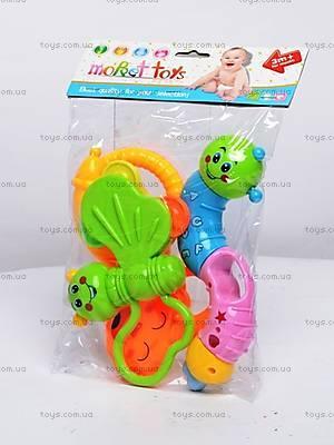 Набор погремушек для деток, 8319A-4