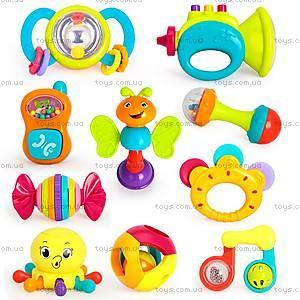 Набор погремушек Huile Toys, 10 штук, 939, купить