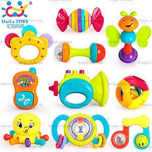 Набор погремушек Huile Toys, 10 штук, 939, фото