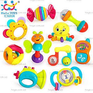 Набор погремушек Huile Toys, 10 штук, 939
