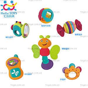 Набор погремушек Huile Toys, 6 штук, 939A