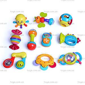 Набор погремушек Huile Toys, 6 штук, 939A, купить