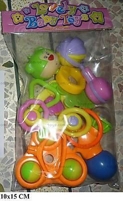 Набор погремушек Lovely Baby Toy, B021-6