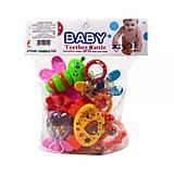 Набор погремушек с прорезывателями «Baby» 7 штук, 8840, фото