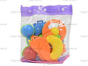 Детские погремушки в наборе, BM4250B, детские игрушки