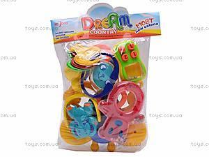 Набор погремушек в ручку Dream Country , 431-10, фото