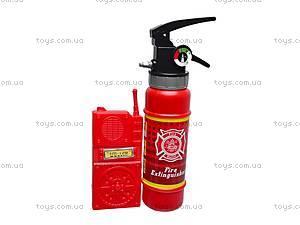 Набор пожарника с каской, 9918B, отзывы